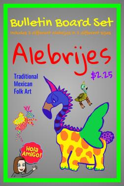 Alebrije Bulletin Board Cover (1)