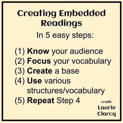 Laurie Clarcq Embedded Readings